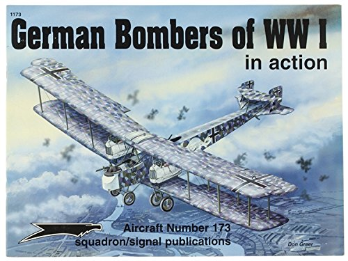 German Bombers of WWI in action - Aircraft No. 173