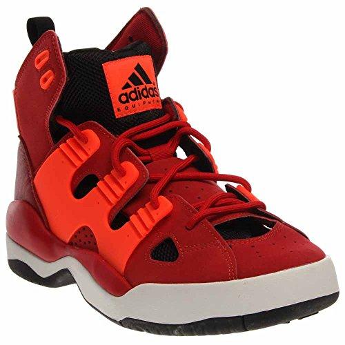 酸素真夜中虚偽(アディダス) Adidas Men EQT Basketball (red / powred / cwhite)男性EQTバスケットボール(赤// cwhite powred)