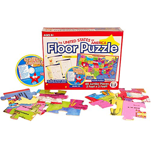 United States Map Giant Floor Puzzle For Kids Toddlers Foot - Giant us map