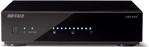 BUFFALO 残量メーター搭載 USB3.0用 外付けハードディスク 1.0TB HD-AM1.0TU3/V