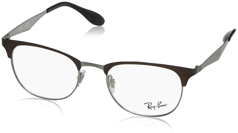 Ray-Ban 6346, Monturas de Gafas Unisex, Negro, 50: Amazon.es ...