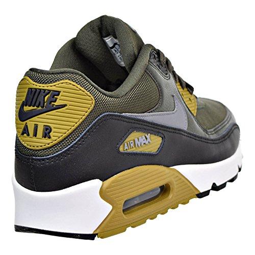 Nike Air Max 90 Mens Shoe Essenziale Corsa, Carico Kaki / Freddo Grigio-nero-sequoia 12