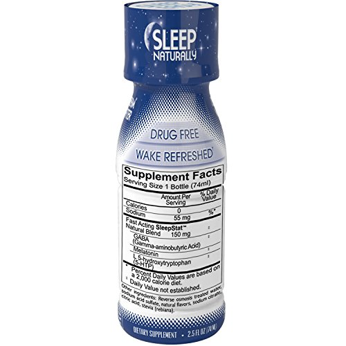Dream-Water-Natural-Sleep-Aid-GABA-MELATONIN-5-HTP-25oz-Shot-Sleepy-Citrus-12-Count