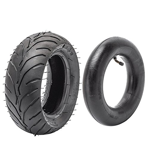 JCMOTO Tire and inner tube kit 110/50-6.5 fo 38cc 47cc 49cc Mini Pocket bike Dirt Pit Bikes by JCMOTO