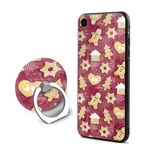 iPhone 8 Case/iPhone 7 Case (4.7 Inches) Gingerbread Christmas Cookies Anti-Scratch Resistant Slim Fit ()