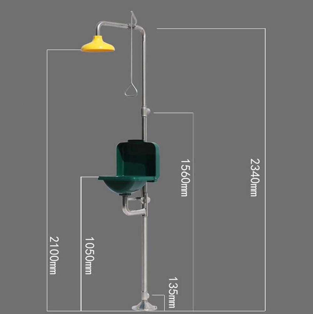 JL Sistema de Ducha Estación de Ducha de Emergencia Lavaojos ...