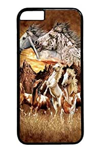 Find 15 Horses PC For HTC One M9 Phone Case Cover Black