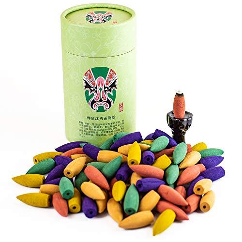 Backflow Incense Cones 90 Pcs | Mixed Natural Scents - - Quality Incense