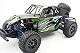 Novcolxya Model RC Car 1/18 Scale Pickup truck Off-Road Electric Fast 2.4Ghz Radio Remote control Buggy Hobby Car Equipped with Rechargeable Battery 4WD High Speed 30KMH Remote(Green)