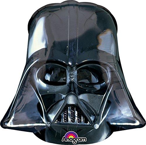 BirthdayExpress Star Wars Darth Vader Helmet Jumbo Foil Balloon