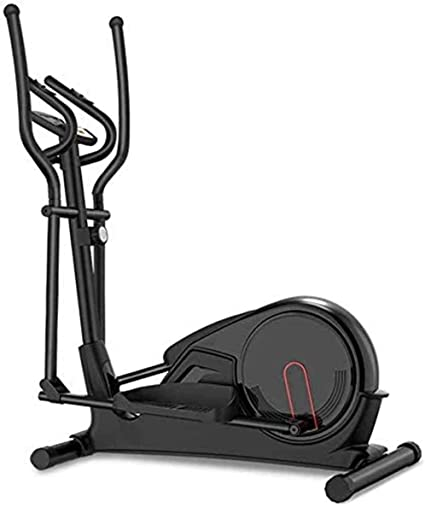 ONETWOFIT Magnetic Elliptical Trainer,Elliptical Cross Machines for Home Use Aerobic Exercise with Pulse Rate and LCD Monitor,8 Level Adjustable Magnetic Resistance Air Walker Max Weight 330lbs OT241