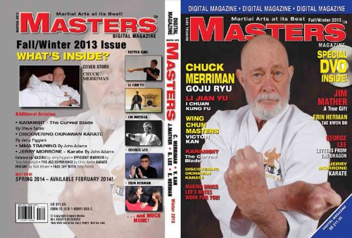 2013 Fall-winter Issue of Martial Arts Masters Magazine Dvd/cd Set