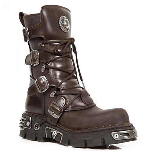 Nuevas Botas De Rock M.373-c15 Gótico Del Punk Hardrock Stiefel Unisex Braun Calidad superior barata en línea Paquete de cuenta atrás en línea vZqWDj