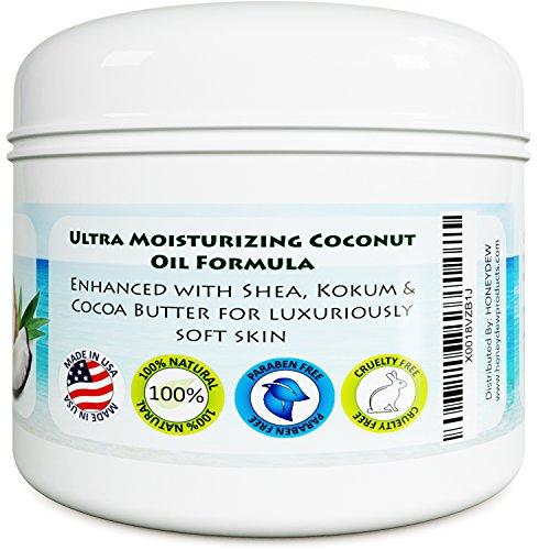 Coconut butter for skin
