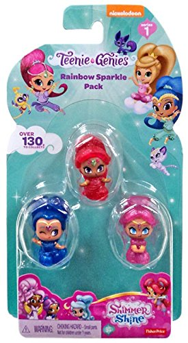 Shimmer and Shine Friends Divine Pack 3 Figures Teenie Genies Style 5 Fisher Price FFM03