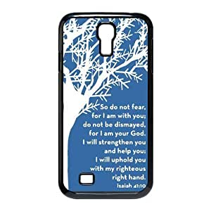 diycover Iphone 5/5S - Christian Theme - Bible Verse Isaiah 41:10 - Hard Case Cover Protector Gift Idea