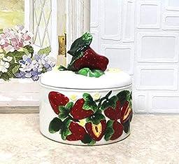 3D Strawberry Tortilla Warmer
