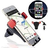 Lammcou Dash Mount for iPhone 7, Gravity Car Mount Smartphone Car Mount Holder Support Cradle Car Dashboard Windshield Mount Air Vent Car Mount GPS Dash Car Mount for iPhone/Samsung etc