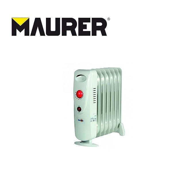Maurer 22040001//ölheizger/ät bianco 700/W 7/Elementi