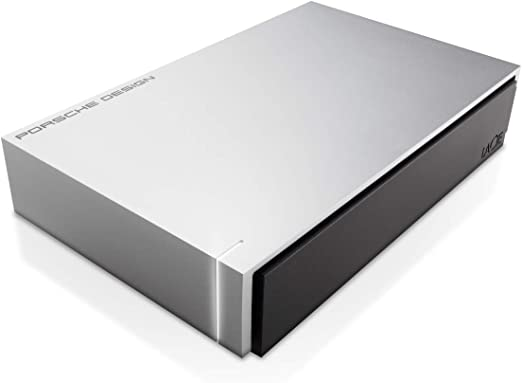 LaCie Porsche Design P'9233 USB 3.0 Desktop Hard Drive ポルシェデザイン アルミニウム Windows /Apple Mac TimeMachine対応 (4TB)
