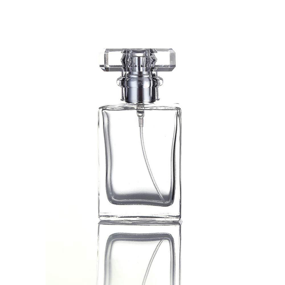 Amazon.com: Botella de perfume recargable de cristal de 30 ...