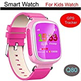 (US) KOBWA GPS + Base Station + WIFI Indoor Positioning Kids Smart Watch, Multifunction Waterproof Wristwatch for Android IOS
