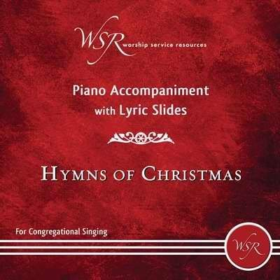 Disc - Hymns Of Christmas - Piano Accompaniment With Lyric Slides Dvd by Worship Service Re (2013-10-21)