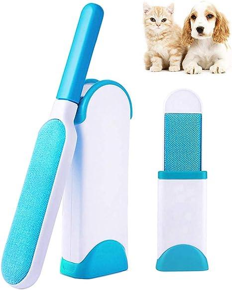 Cepillo Removedor De Pelo Para Mascotas,Pet Hair Remover Brush,Pelo De Mascota Con Rodillo De Pelusa,Ropa Para Quitar El Pelo De Mascotas,Cepillo Removedor De Pelo Para Mascotas
