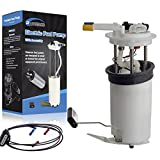 POWERCO High Performance Universal Gas Electric Fuel Pump Module Assembly with Sending Unit E3508M Fit For 2000 2001 2002 2003 Chevrolet Tahoe 4.8L 5.3L Exc. Export w/Code TDB