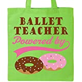 Inktastic - Ballet Teacher Humor Tote Bag Lime Green e554