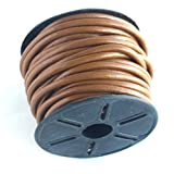 4mm Leather Cord 10 Meters Light Brown