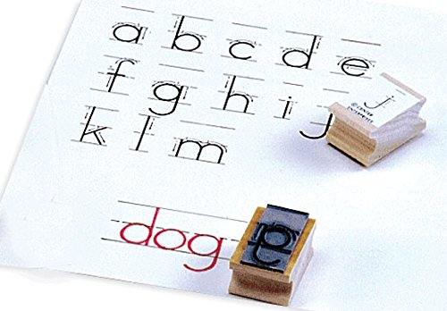 Center Enterprise CE858 Lowercase Manuscript Alphabet Stamp, ()