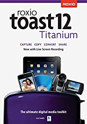 Roxio Toast 12 Titanium Mac (Old Version) [Download]