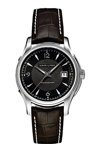HAMILTON watch Jazzmaster Day Date Black Dial H32515535 Men's [regular imported goods]