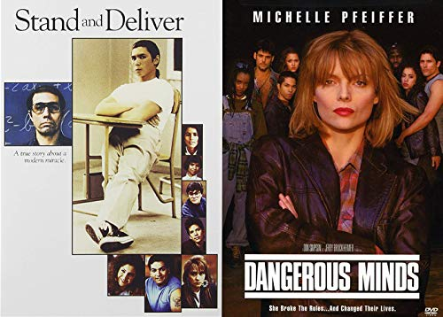 They Broke The Rules And Changes The Kids Lives - Stand And Deliver & Dangerous Minds 2-DVD Collection (Patch Adams What Dreams May Come)