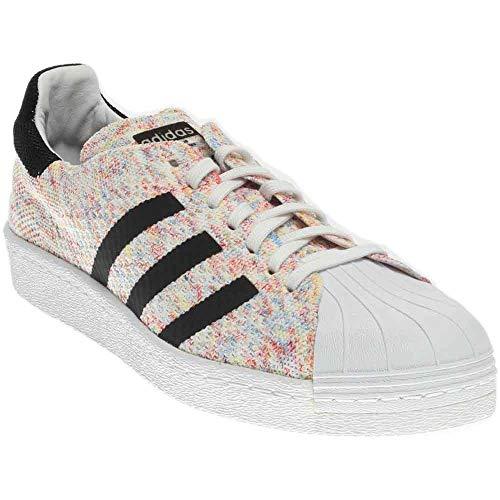 adidas Men's Superstar 80s Pk Originals Ftwwht/Ftwwht/Cblack Casual Shoe 8