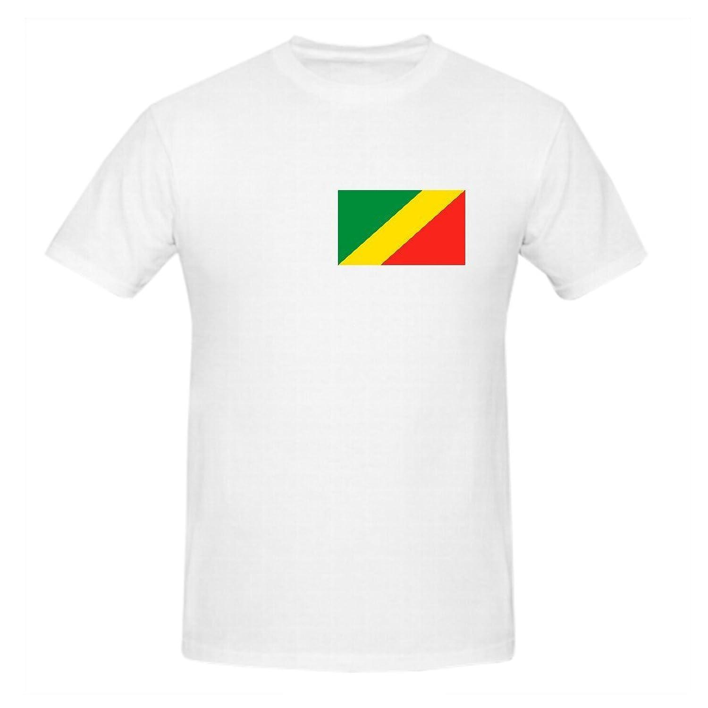 Freddy Funny Short Sleeve Congo Flag O Neck Man Tshirt