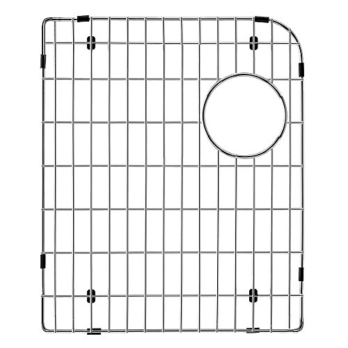Transolid TSGRDO-L Stainless Steel Left Bowl Sink Grid for RTDO3322 and RUDO3120 Transolid Granite Kitchen Sinks by Transolid