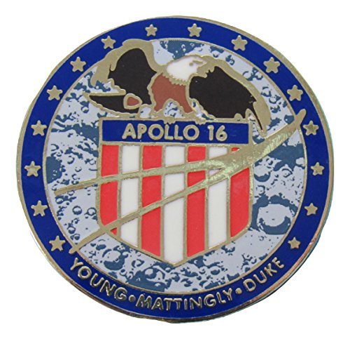 Apollo 16 Lapel Pin Official Nasa ()
