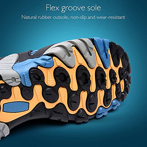 Shoes Grey Boating Trail Hiking Padcod Water Hiking for Sneakers Climbing Shoes Men's Outdoor qqX7tY