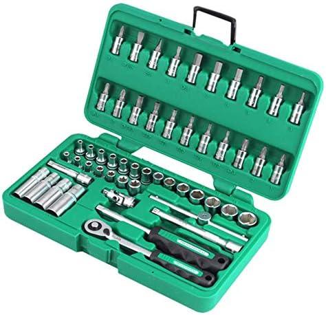 YUIOLIL Reparaturwerkzeugsatz Ratschenschl uuml;ssel 52 St uuml;ck 14 Steckschl uuml;sselSatz Ratschengriffschl uuml;ssel