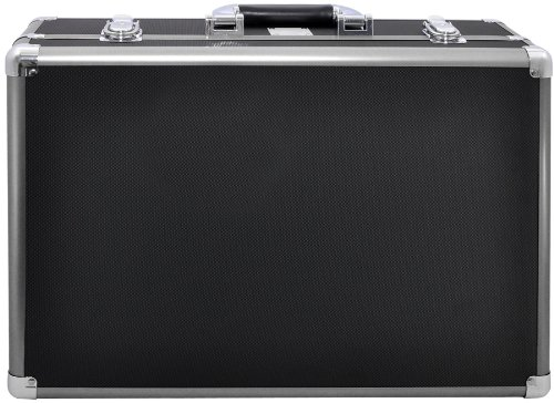 Xit XTHC40 Medium Hard Photographic Equipment Case with Carrying Handle (Black) (Recess Storage Panel)
