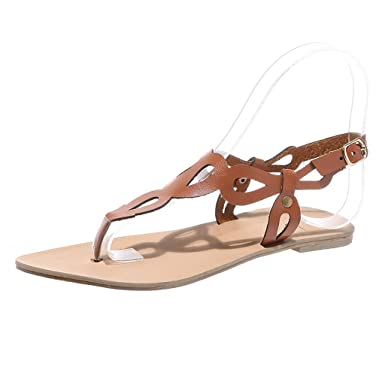c0fe7183d Woman flats summer sandals fashion casual shoes rome style gladiator sandals  jpg 385x385 Summer sandals and