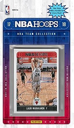 size 40 ce56c 38e3e Amazon.com: Chicago Bulls 2017 2018 Hoops Basketball NBA ...