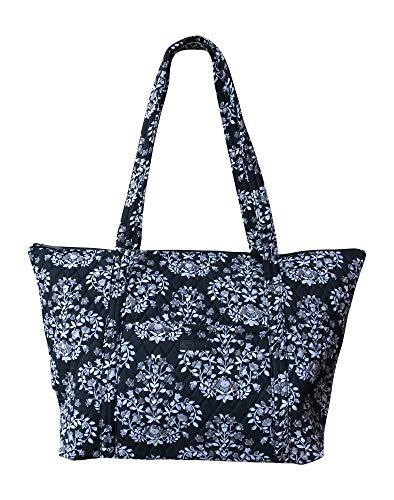 (Vera Bradley Miller Travel Tote Bag (Chandelier Noir))