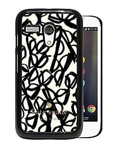 Kate Spade Cover Case For Motorola Moto G Black Phone Case 265