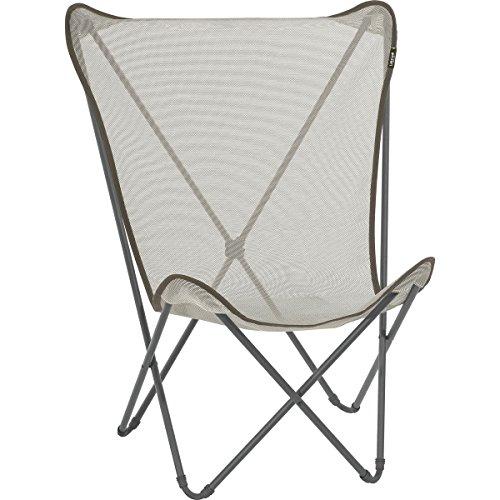 Lafuma Camping Chair - Lafuma Maxi Pop Up Chair Basalt/Seigle, One Size