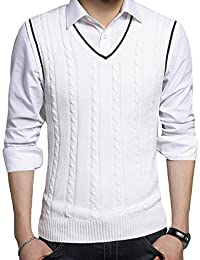 Amazon.com: Whites - Vests / Sweaters: Clothing, Shoes & Jewelry