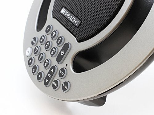 Full Duplex Speaker (Spracht Aura SoHo version 2.0 Full-Duplex Analog Conference Phone with Expanded Capability-Amber)