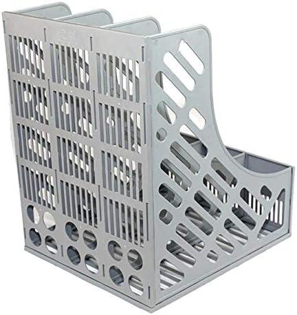 Datei Racks Zeitschriftenliteratur Kunststoffhalter Rahmen Ablage Ablagehalter Stabiler Schreibtisch Dreifachteiler Dokumentenschrank Ablagefach Anzeige- und Aufbewahrungsbox Datei-Halter-Desktop